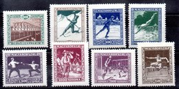 Serie De Hungría N ºYvert  371/78 ** Valor Catálogo 90.0€ - Hungary