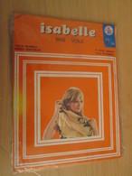 Paire De Bas Nylon VOILE De Marque ISABELLE Neuf Jamais Porté Sans Couture , Couleur CHAIR CLAIRE , Taille 35/36 - 1940-1970