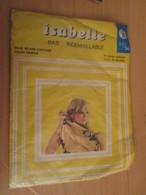 Paire De Bas Nylon 20D INDEMAILLABLE De Marque ISABELLE Neuf Jamais Porté Sans Couture , Couleur CHAIR CLAIRE , T. 35/36 - Vintage Clothes & Linen
