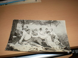 Picnic Old Photo Postcards - Photographie