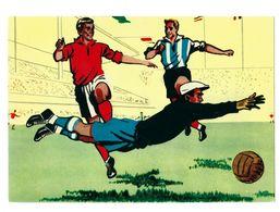 Sweden,postcard, Soccer,football, World Cup- 1958 Stockholm 17.6.58 - 1958 – Schweden