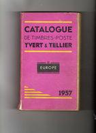 Catalogue De Timbres-poste Yvert&tellier Tome 2 1957 - Cataloghi