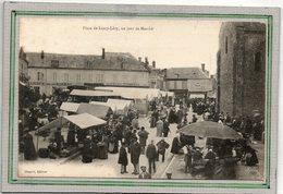 CPA - LURCY-LEVY (03) - Grande Affluence Sur La Place Le Jour Du Marché Au Début Du Siècle - Otros Municipios