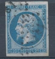 N°14 VARIETE.OBLITERATION A.S.1. - 1853-1860 Napoleone III