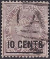 Ceylon    .   SG  .     188        .       O     .   Cancelled        .   /    .  Gebruikt - Ceylon (...-1947)