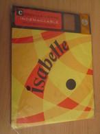 Paire De Bas Nylon INDEMAILLABLE De Marque ISABELLE Neuf Jamais Porté Sans Couture , Couleur CHAIR CLAIRE , T. 35/36 - 1940-1970