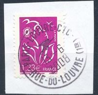 France - Marianne De Lamouche 1,33 YT 4157 Obl. Cachet Rond Sur Fragment - 2004-08 Marianne De Lamouche