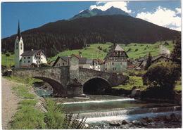 Savognin Am Julierpass (1210 M) Gegen Piz Arblatsch. Partie An Der Julia   - (GR) - GR Grisons