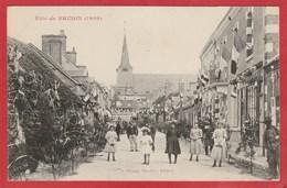 CPA: Brinon (58) Fete De Brinon (1909) - Brinon Sur Beuvron