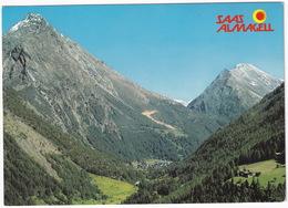 Saas Almagell 1672 M. ü. M. - Almagellierhorn 3327 M / Stellihorn 3436 M  - (VS) - VS Valais
