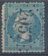 N°22 VARIETE. - 1862 Napoleone III