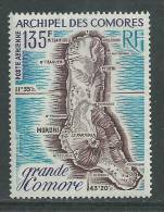 Comores P.A. N° 53  X  Carte De L'ile De La Grande Comore Trace De Charnière Sinon TB - Comoro Islands (1950-1975)