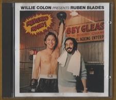 CD 9 TITRES WILLIE COLON PRESENTS RUBEN BLADES METIENDO MANO ! BON ETAT & TRES RARE - World Music