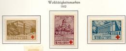 PIA - FINLANDIA  - 1932 : Pro Croce Rossa - Monumenti Di Helsinki  - (Yv 170-72) - Primo Soccorso