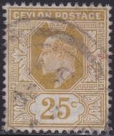 Ceylon    .   SG  .     284      .       O     .   Cancelled        .   /    .  Gebruikt - Ceylon (...-1947)