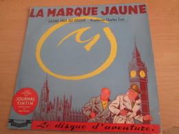 PF519 Le Disque D'Aventure FLD53 VYNIL 33T 25 Cm LA MARQUE JAUNE BLAKE ET MORTIMER Très Bon état Général Cf Photos - Disques & CD