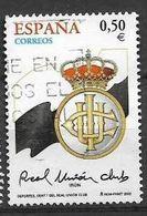 ESPAGNE SPANIEN SPAIN ESPAÑA 2002 FOOTBALL 100 YEARS REAL UNIÓN OF IRÚN USED ED 3887 YV 3452 MI 3732 SG 3857 SC 315 - 1931-Hoy: 2ª República - ... Juan Carlos I