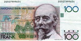 Billet De Belgique, 100 Francs Type Hendrik Beyaert , Non Daté (1982-94) - - [ 2] 1831-... : Regno Del Belgio