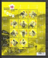 België 2017  10 Belgische Tourwinnaars (**) - Feuillets