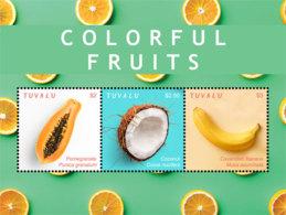 Tuvalu 2018  Color Fruits  I201901 - Tuvalu