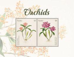 Tuvalu 2018  Orchids  I201901 - Tuvalu