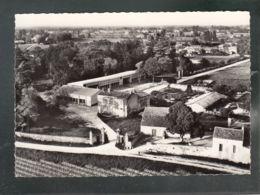 CP (33) Saint-Gervais - Parc Public Et Groupe Scolaire - Vue Aérienne - Autres Communes