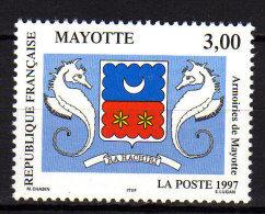 Mayotte N° 43  XX Armoiries De Mayotte, Sans Charnière, TB - Ongebruikt