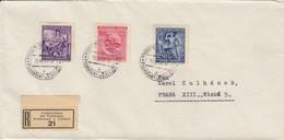 GERMANY Böhmen Und Mähren 1943 Podhorschan - Germany