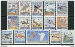 Turks & Caicos Isl. 1995. Michel #1245/59 MNH/Luxe. Birds (Ts17/B25) - Oiseaux