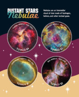 Tuvalu 2018 Nebulae Astronomy   I201901 - Tuvalu