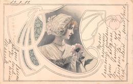 ¤¤   -  Carte Viennoise   -   Illustrateur   -   Femmes Style Art Nouveau   -   ¤¤ - Illustrateurs & Photographes
