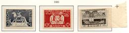 """PIA - FINLANDIA  - 1935 : 100° Della Pubblicazione Del Poema Epico Nazionale """"KALEVALA""""  - (Yv 183-85) - Unused Stamps"""