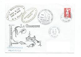 16958 - BATRAL LA GRANDIERE - TOURNEES DES ÎLES EPARSES 1991 ( CACHETS DES STATIONS EUROPA ET JUAN DE NOVA) - Postmark Collection (Covers)