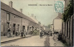 45 DORDIVES - La Rue De La Mairie - Dordives