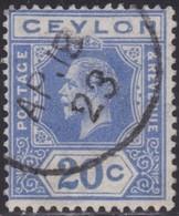 Ceylon    .   SG  .     350          .       O     .   Cancelled        .   /    .  Gebruikt - Ceylon (...-1947)
