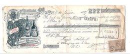 1897 TRAITE RUMILLET-CHARRETIER DISTILLERIE Au PUY EN VELAY HAUTE LOIRE - France