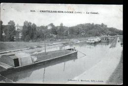 45, Chatillon Sur Loire, Le Canal - Chatillon Sur Loire