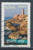 France  Portraits De Régions La France à Voir - La Côte De Granit Rose YT 4163 Obl. Ondulations - France