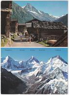 Zinal, Val D'Anniviers - Besso Et Pte. De Zinal, Glacier De Zinal, Obergabelhorn, Cervin, Dt. Blanche - (VS) - VS Valais