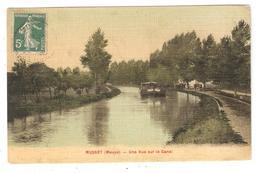 CPA 55 MUSSEY Une Vue Sur Le Canal - Péniche - France