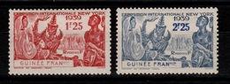 Guinee -  YV 151 & 152 N* - New York - Guinée Française (1892-1944)