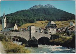 Savognin GR Mit Juliabrücke Und Piz Arlos - (GR) - GR Grisons