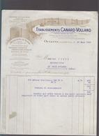 Oullins Pres Lyon / Treillages En Bois Canard Volland / Facture 1929 - 1900 – 1949