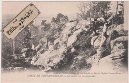 77 Forêt De Fontainebleau - Cpa / Le Chaos De Shakespeare. Précurseur. - Fontainebleau