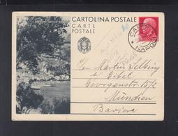 Cartolina Arenzano 1936 - 1900-44 Victor Emmanuel III