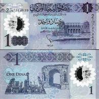 NEW!!! Libya 2019 - 1 Dinar Pick NEW UNC Polymer - Libya
