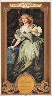 ¤¤   -  Carte Publicitaire Gauffrée  -  BISCUITS PERNOT  -  La Marquise De SEVIGNE  -  Voir Description     -   ¤¤ - Publicité