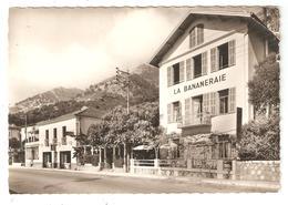 CPSM 06 EZE Bord De Mer - La BANANERAIE - Restaurant - (Vue Peu Commune) - Eze