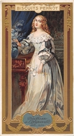 ¤¤   -  Carte Publicitaire Gauffrée  -  BISCUITS PERNOT  -  Duchesse De LONGUEVILLE  -  Voir Description     -   ¤¤ - Publicité