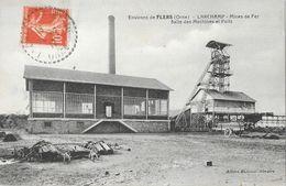 Environs De Flers (Orne) - Larchamp, Mines De Fer, Salle Des Machines Et Puits - Edition Albert Buisson - France
